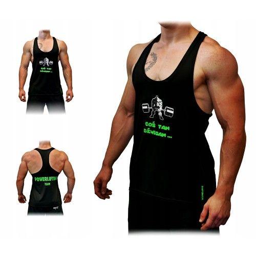 Tank TOP T-Shirt Męski SMPOWER POWERLIFTING / GYM