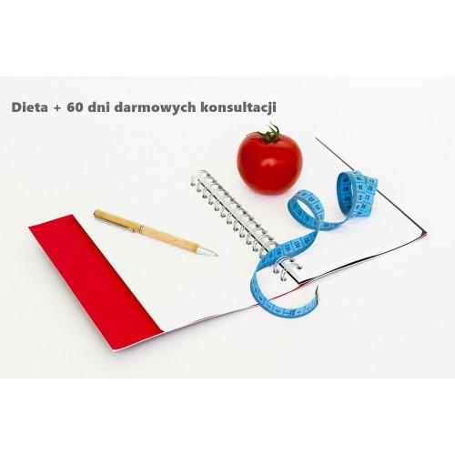 Dieta online z 60 dniowym okresem darmowych konsultacji
