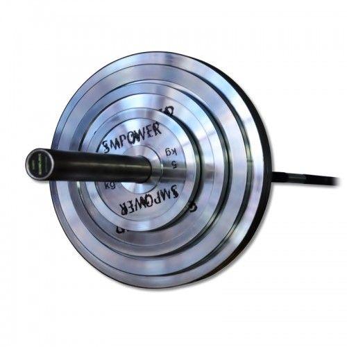 Zestaw Obciążeń Stalowych SMPOWER EDGE 150 Kg ZRS02
