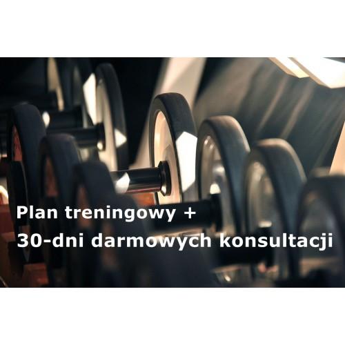 Plan treningowy z 30 dniowym okresem darmowych konsultacji