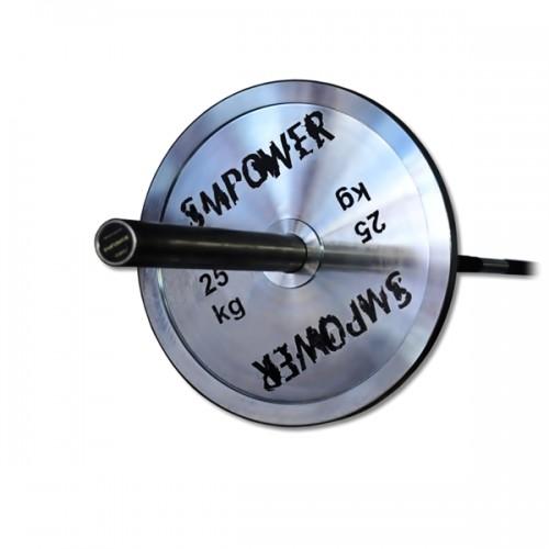 Obciążenie Olimpijskie 25kg, Talerz Stalowy Ocynk EDGE