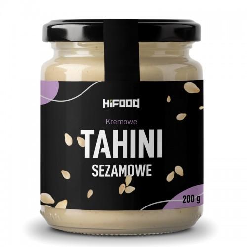 TAHINI SEZAMOWE 100% NATURALNE 200 g HiFOOD