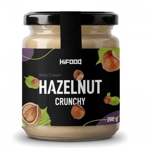 Keto Cream Hazelnut Crunchy 200 g HiFOOD