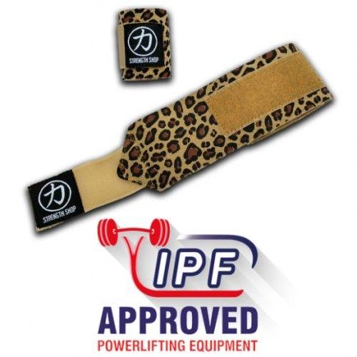 Owijki na nadgarstki Strengthshop IPF Lampart 60cm