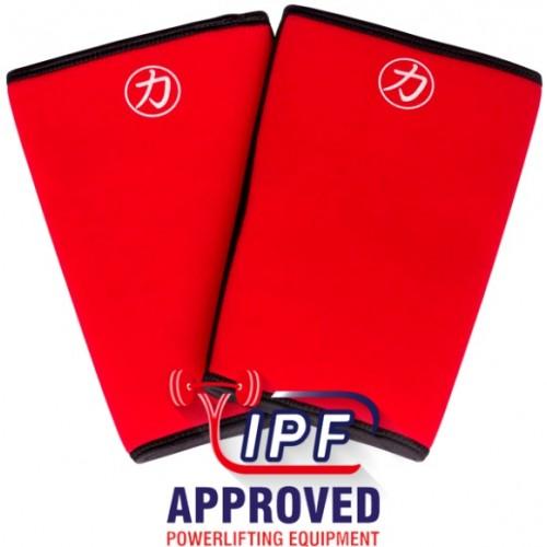 Neopreny na kolana Strengthshop IPF 7mm RED INFERNO