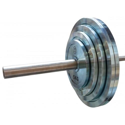 Zestaw Obciążeń Stal 1,2,5kg 2,5kg 5kg 10kg 15kg 20kg 25kg - 157,5kg