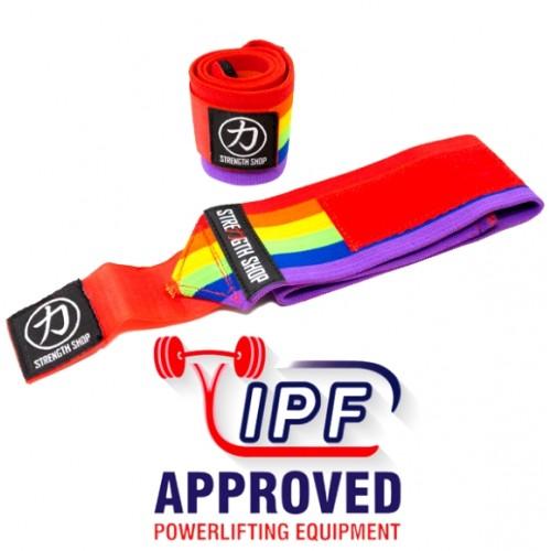 Usztywniacze na nadgarstki IPF 60cm Rainbow HEAVY