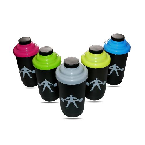 Shaker Bidon na białko odżywki -  SM 5 kolorów 600ml