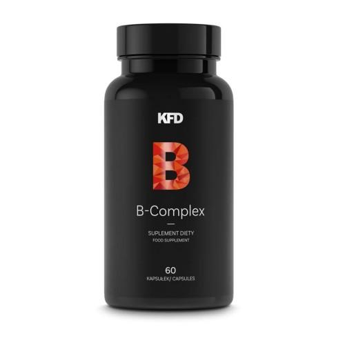 B-COMPLEX KFD Najlepszy skład (10 witamin) 60 tabletek