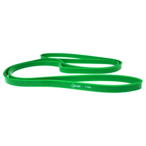 Taśma Guma oporowa do ćwiczeń Power Band 7-16kg - zielona