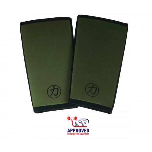 Neopreny Na Kolana Strengthshop IPF 7mm Dark Green INFERNO